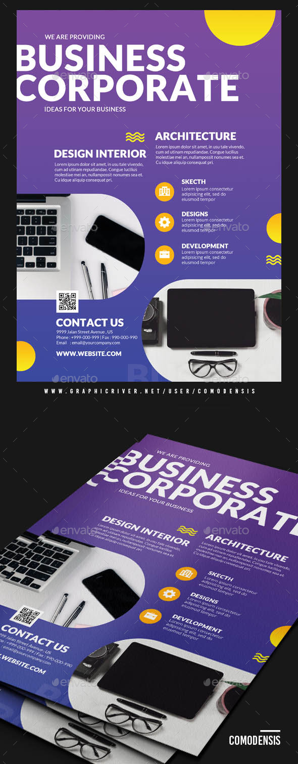 GraphicRiver Creative Design Flyers 21112977