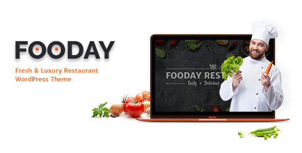 Fooday - Fresh & Luxury Restaurant WordPress Theme - Restaurants & Cafes Entertainment