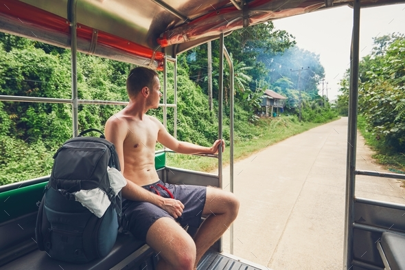 Traveling through Thailand - Stock Photo - Images