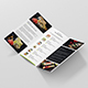 Brochure – Sushi Restaurant Tri-Fold - GraphicRiver Item for Sale