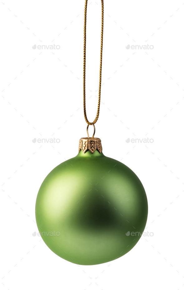 christmas bal - Stock Photo - Images