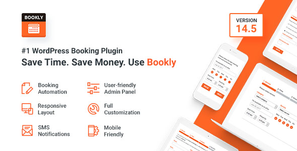 Bookly – #1 WordPress Booking Plugin