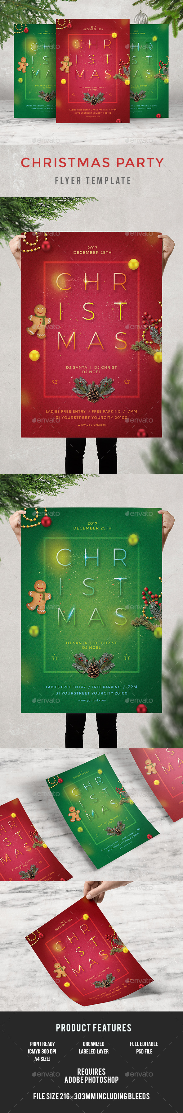 GraphicRiver Christmas Party 21113542
