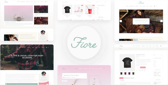 Blog Fiore - WordPress Blog Theme