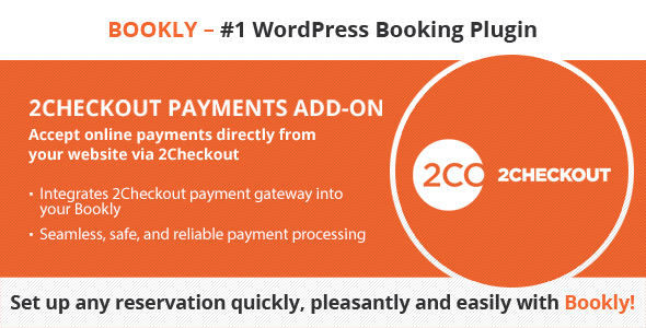 CodeCanyon Bookly 2Checkout Add-on 21113698