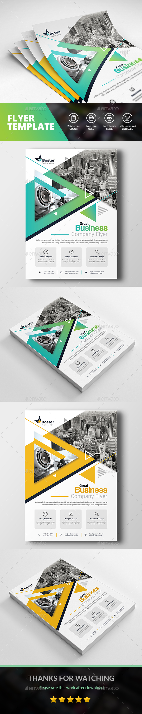 GraphicRiver Promotional Flyer 21113730