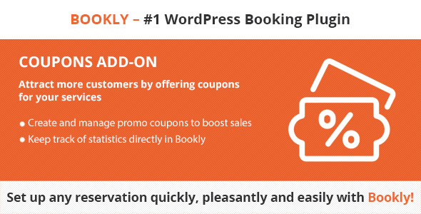 CodeCanyon Bookly Coupons Add-on 21113860