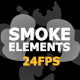 2D FX Smoke Elements 24 Fps - VideoHive Item for Sale