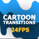 Dynamic Cartoon Transitions - VideoHive Item for Sale