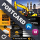 Construction Postcard Templates - GraphicRiver Item for Sale
