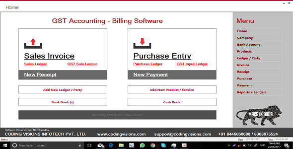 GST Accounting Software | Source Code - CodeCanyon Item for Sale