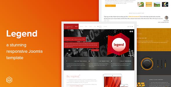 Legend - Business Responsive Joomla Template - Corporate Joomla