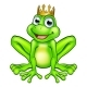 Cartoon Frog Prince - GraphicRiver Item for Sale