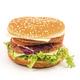Hamburger on a white background - PhotoDune Item for Sale