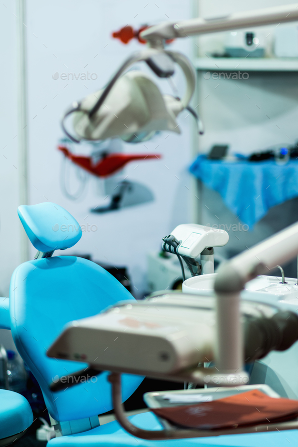 Detail from dentist's office - Stock Photo - Images