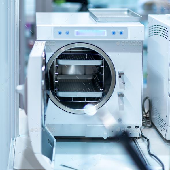 Medical Autoclave Sterilizer - Stock Photo - Images