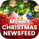 Merry Christmas NewsFeed Banners Ad - 20PSD