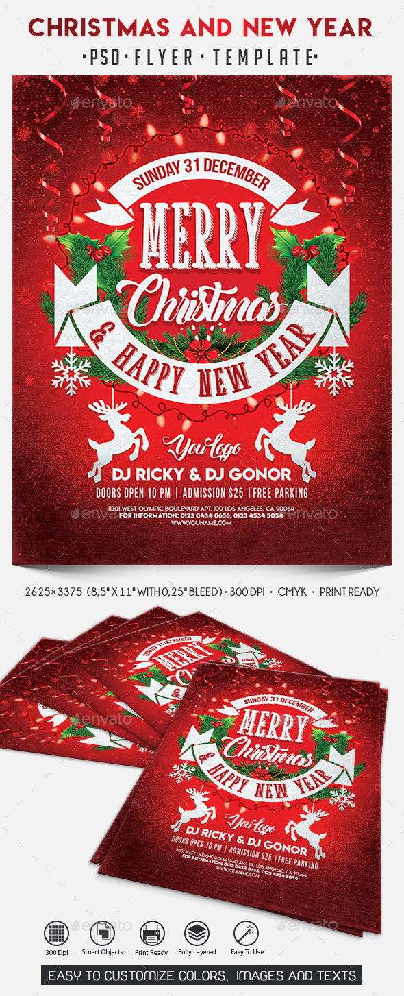 GraphicRiver Christmas and New Year 21114524