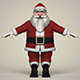Santa Claus Cartoon - 3DOcean Item for Sale