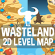 Level Map Backgrounds Wasteland - GraphicRiver Item for Sale