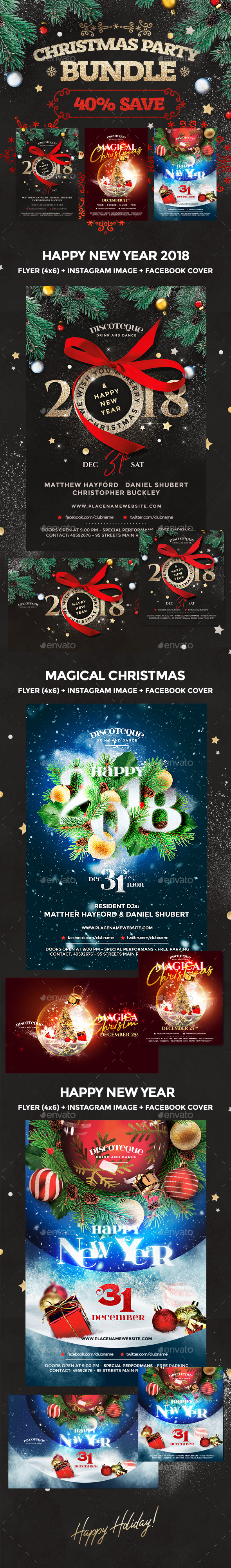 GraphicRiver New Year 21114921
