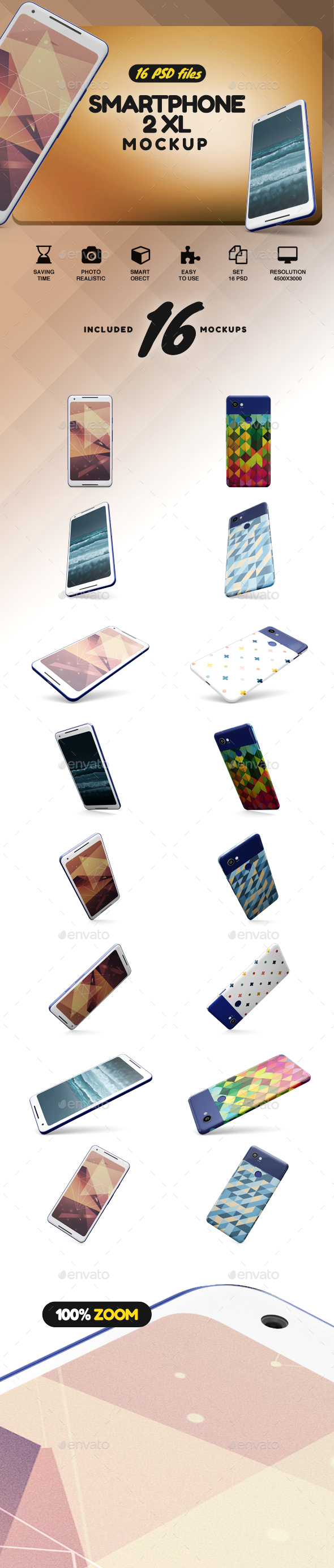 GraphicRiver SmartPhone XL 2 App Mockup vol.3 21114944