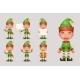 Elf Christmas Santa Claus Helper - GraphicRiver Item for Sale
