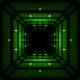 Green Cube Tunnel - VideoHive Item for Sale