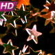 Pink Golden Stars In Flight - VideoHive Item for Sale