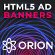 Orion - Multipurpose HTML5 Banner Ad Templates GWD (Cryptocurrency Bitcoin)