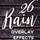 Rain Overlay Effects - GraphicRiver Item for Sale