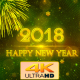 Happy New Year 2018 Green - VideoHive Item for Sale