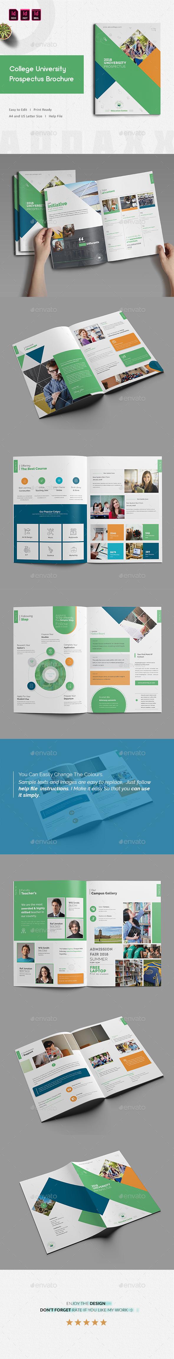 College University Prospectus Brochure - Corporate Brochures