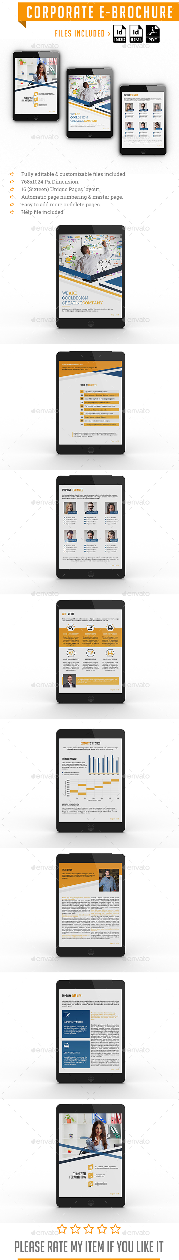 GraphicRiver Corporate E-Brochure 21115524
