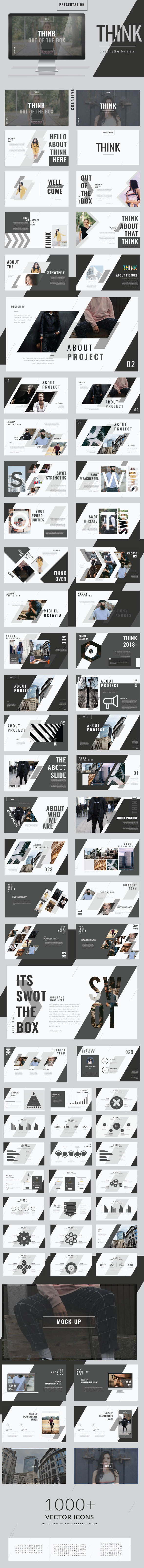 GraphicRiver Think Keynote Template 21115530