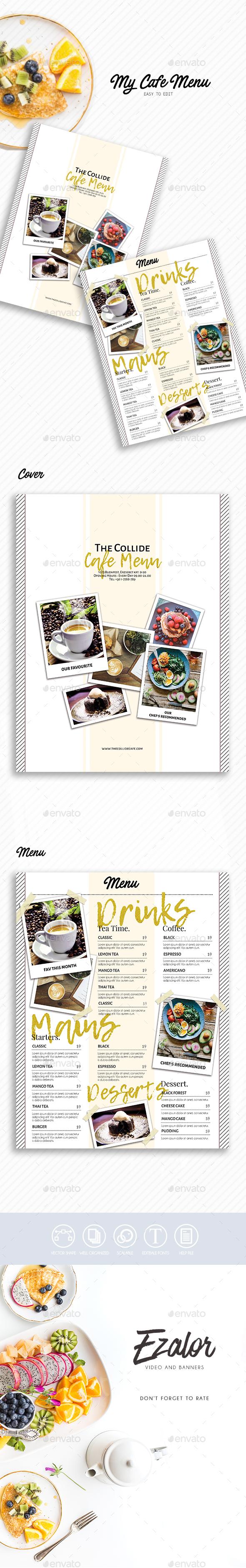 GraphicRiver Cafe Menu 21115671