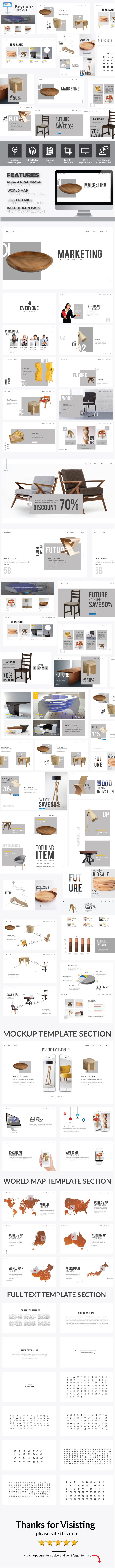 GraphicRiver Marketing Keynote Presentation Template 21115808