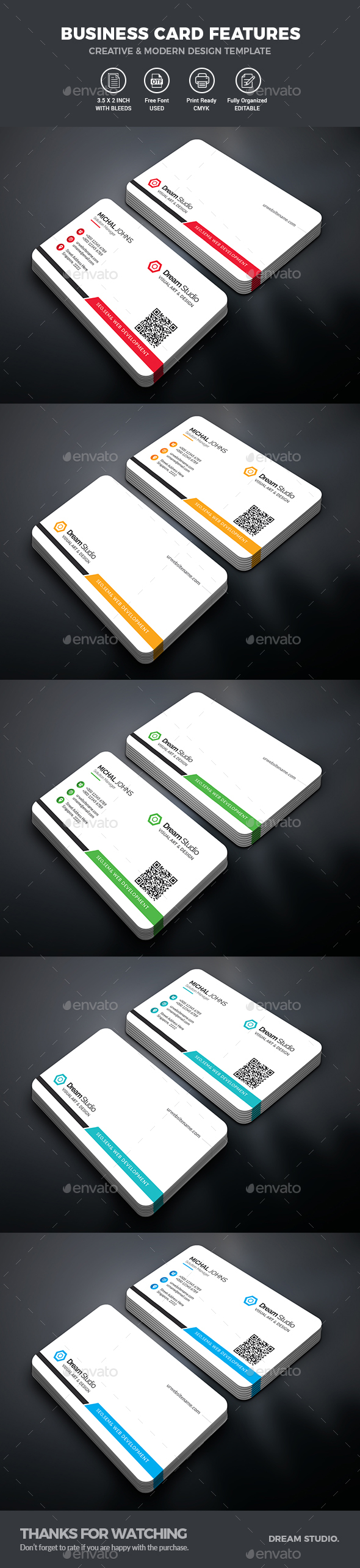 GraphicRiver Business Cards 21115837