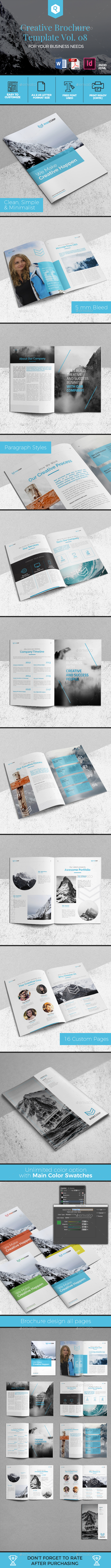 Creative Brochure Template Vol. 08 - Corporate Brochures
