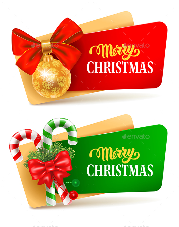 GraphicRiver Christmas Festive Set 21115988