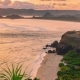 Sunset Scenery From Top of Bukit Merese, Lombok Indonesia - VideoHive Item for Sale