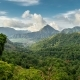 Beautiful  View Over the Green Tropical Landscape in Sembalun Lawang, Lombok, Indonesia - VideoHive Item for Sale