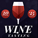 Wine Tasting Flyer - GraphicRiver Item for Sale