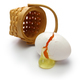 broken egg isolated on white background - PhotoDune Item for Sale