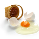 broken egg isolated on white background - PhotoDune Item for Sale