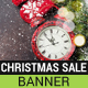 Christmas Countdown Sale Banner