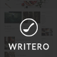 Writero - Elegant WordPress Blog Theme - ThemeForest Item for Sale