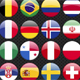 World Football Flags Russia 2018 - GraphicRiver Item for Sale
