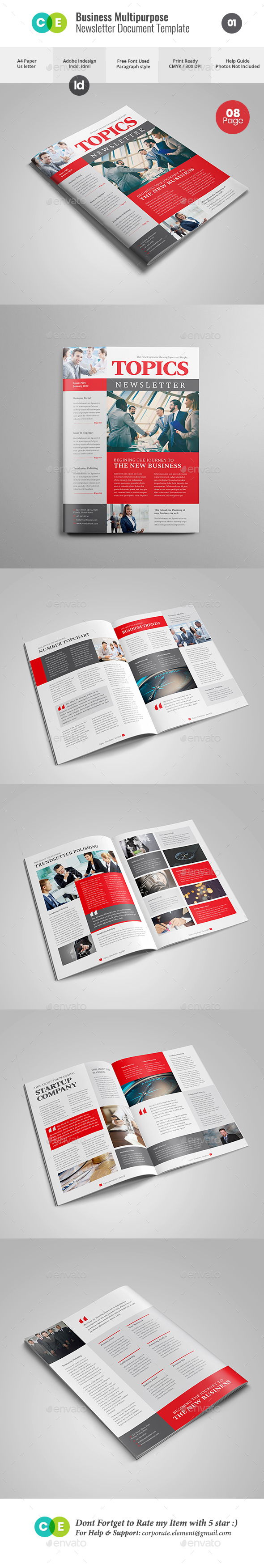 GraphicRiver NEWSLETTER For Multipurpose Business V01 21116747