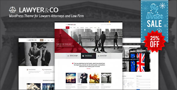 Lawyer | WordPress Theme for Attorneys and Legal Firms
